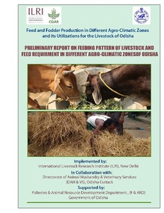 Feed and fodder production in different agro-climatic zones and its