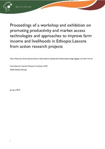Proceedings of a workshop and exhibition on promoting productivity