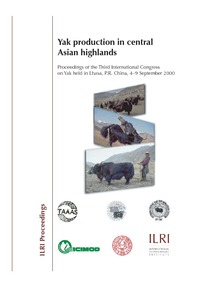 Yak production in central Asian highlands