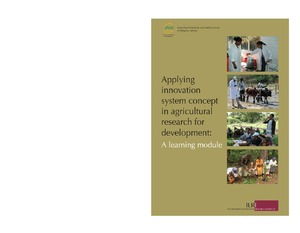 Applying innovation system concept in agricultural research for applying innovation system concept in agricultural research for development fandeluxe Choice Image