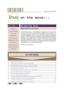 Newsletter - IPMS on the move