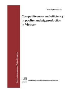 Competitiveness and efficiency in poultry and pig production