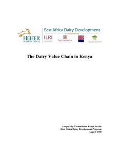 Dairy Value Chain Kenya Report EADD
