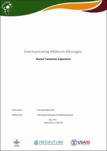 Communicating Aflatoxin Messages: