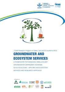 Groundwater and Ecosystem Services framework document