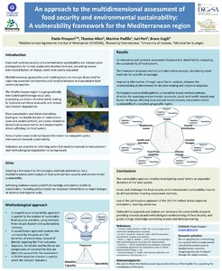 An approach to the multidimensional assessment of food security and