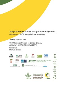 WP Adaptation Measures in Agricultural Systems SBSTA