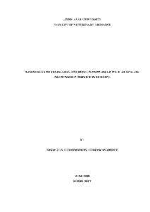 thesis about artificial insemination Artificial insemination is the deposit of male reproductive cells in the female reproductive tract by mechanical means rather than by direct service.