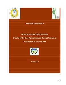research thesis on agricultural marketing 1 annex 6 overview msc thesis research student ephrem assefa belete teffera rebeka amaha rehima mussema kindie aysheshum wakena totoba.