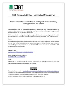 CIAT Research Online - Accepted Manuscript
