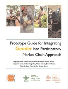 Prototype guide for integrating gender into participatory market chain approach