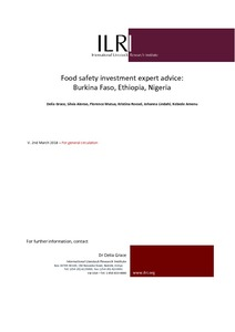 Food safety investment expert advice burkina faso ethiopia nigeria fandeluxe Choice Image