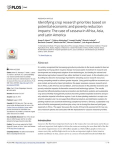 The spatial-temporal dynamics of potato agrobiodiversity in the highlands of central Peru: a case study of smallholder management across farming landscapes.