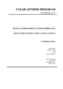 Quid pro quo sexual harassment article